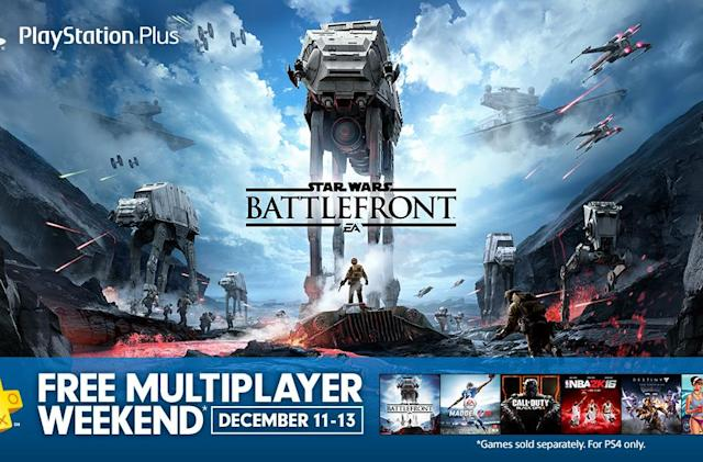 Online multiplayer is free this weekend on PS4