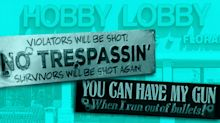 Hobby Lobby faces criticism over products that 'encourage' gun violence