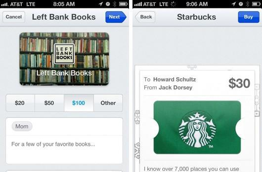 Square starts offering gift cards, ties them into Passbook for iOS 6 recipients (video)