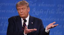 Trump White House 'worried' about election chances and 'in shock' after chaotic debate