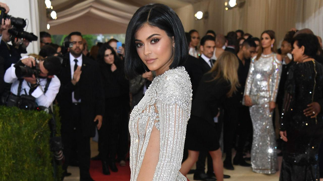 Kylie Jenner's Met Gala Outfit Leaves Her With Scratched