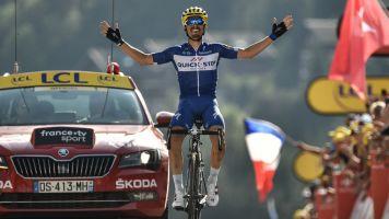 Tour de France - Julian Alaphilippe brille au Grand-Bornand, première victoire française
