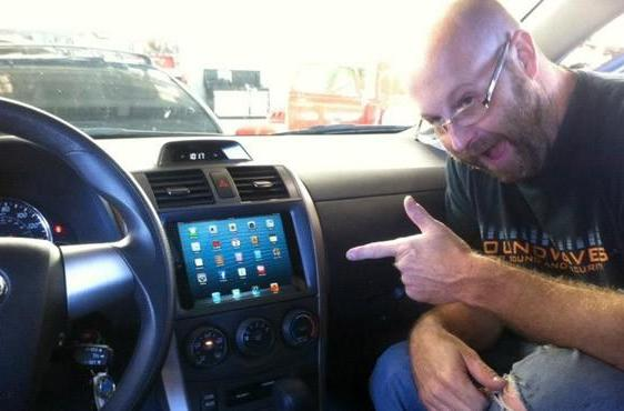 Yes, there is already an iPad Mini installed in a car dashboard (video)