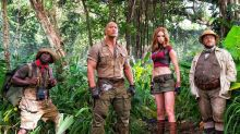 First Jumanji: Welcome To The Jungle trailer offers explanation for THAT Karen Gillan costume