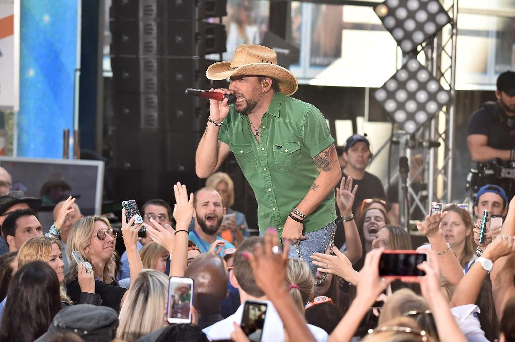 Jason Aldean has repeatedly voiced dismay at the carnage but steered clear of discussion on gun control and other political issues since the deadliest shooting in modern US history