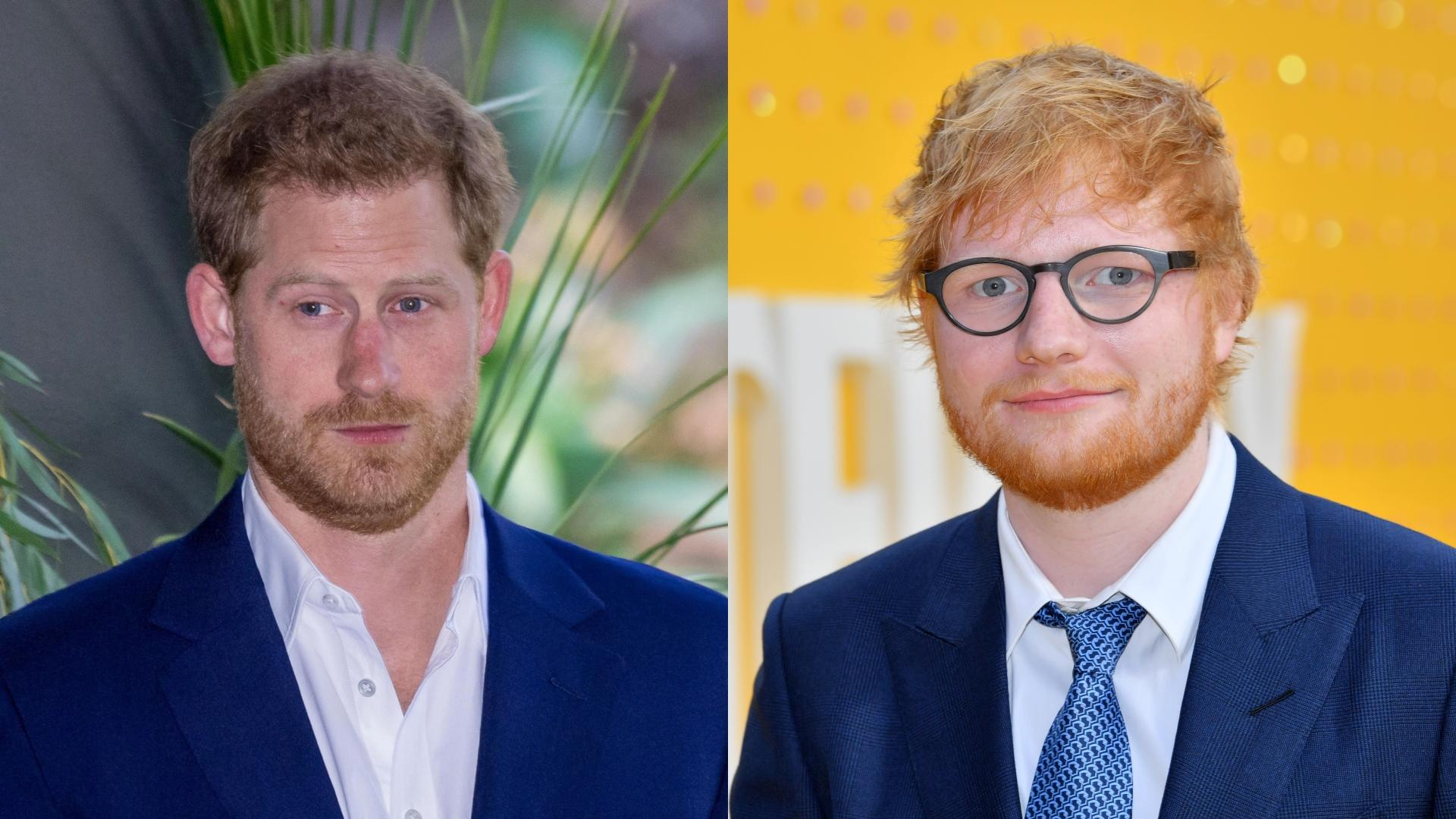 Image result for Prince Harry and Ed Sheeran team up in hilarious