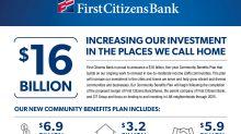 First Citizens Bank Announces $16 Billion Community Benefits Plan
