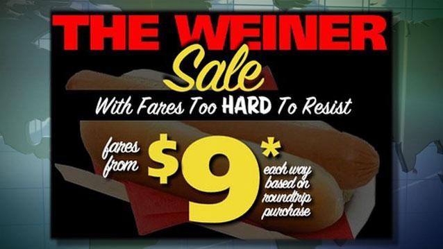 The Daily Ticker: The Weiner Sale: Spirit Air Offers