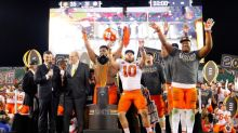 Clemson scores TD with one second left to beat Alabama and win national title