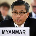 Myanmar's U.N. envoy tells U.S. lawmakers more sanctions needed