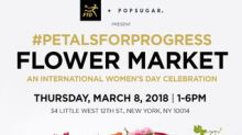FTD and POPSUGAR to Host #PetalsForProgress Flower Market in Celebration of International Women's Day on March 8