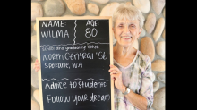 Retirement community takes 'back to school' photos, offers advice: 'Be kind'
