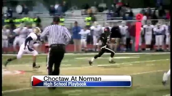 Norman rushes past Choctaw 45-14
