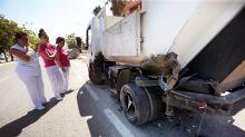 Heridos 4 operarios de limpieza de Alicante arrollados por un todoterreno