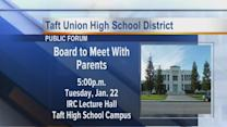 Taft HS Meeting