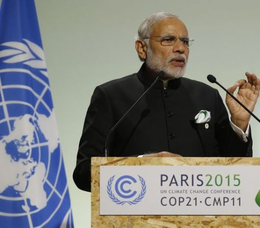 India to ratify Paris Agreement climate pact on Oct. 2
