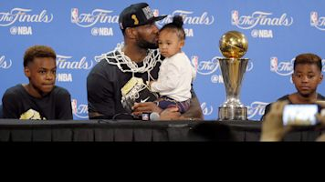 Family matters: LeBron's decision isn't just hoops