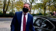 It's a triple whammy for Keir Starmer's leadership, thanks to Jeremy Corbyn, Boris Johnson and Joe Biden
