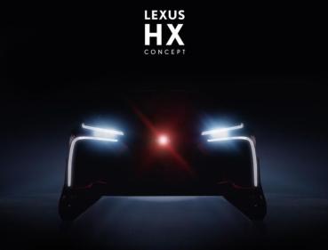 Lexus 預告全新休旅 HX Concept!車輪造型有點特別