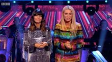 Strictly fans gush over Tess Daly and Claudia Winkleman's quarter final dresses