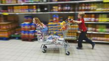 A self-braking trolley has been invented to improve shopping trips for parents