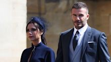 The Internet can't resist poking fun at Victoria Beckham's lack of a smile at the royal wedding