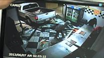 Caught on Camera: Daring Robbers Make Off with Safe