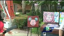 Colorblind artist debuts Disney collection in Sac.