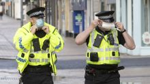 Scottish police break up 300 house parties during university lockdown chaos