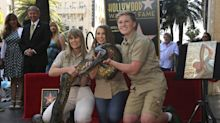 "Hollywood-Stern für ""Crocodile Hunter"" Steve Irwin"