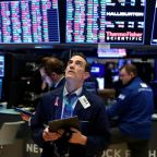S&P 500 finishes within points of record high close