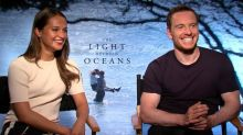 Michael Fassbender and Alicia Vikander on Their Instant Chemistry the Night They First Met