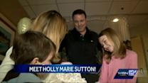 Sutton family grows by one