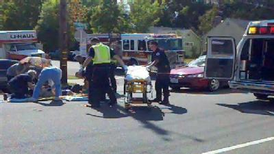 From The Field: Emergency Crews Repsond To Roseville Crash
