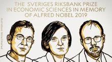 Premio Nobel de Economía para tres estadounidenses por su investigación sobre cómo sacar a gente de la pobreza
