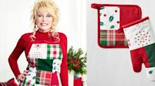 Dolly Parton Created a Christmas Kitchen Collection and It Has Us Feeling Festive Already