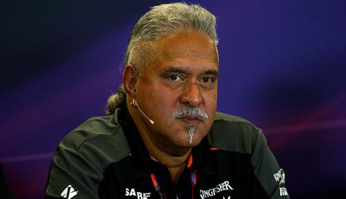 Formel 1: Force-India-Teamchef Mallya in London verhaftet