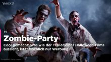 Zombie-Party? Halloween-Film? Nein, Werbung!
