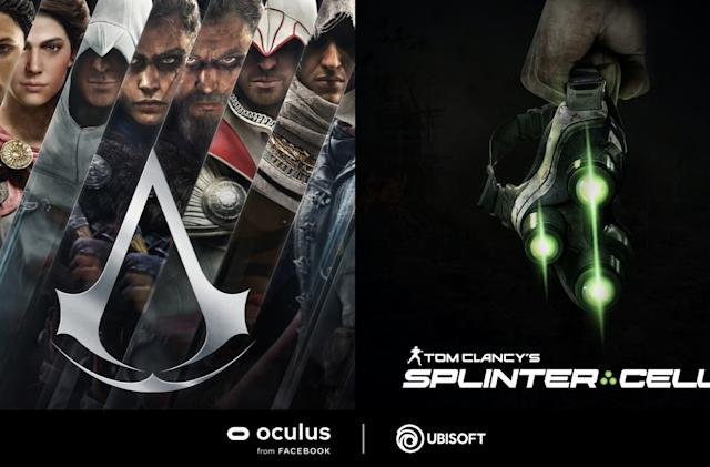 'Assassin's Creed' and 'Splinter Cell' are coming to Oculus