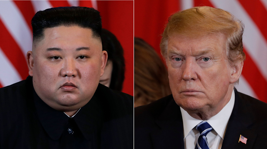 WH: Trump, Kim 'agree' on assessment of Biden