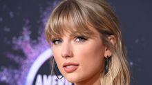 Taylor Swift has a curly fringe and we can't stop staring