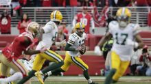 17-34. Aaron Rodgers decide triunfo de Packers en una primera mitad perfecta