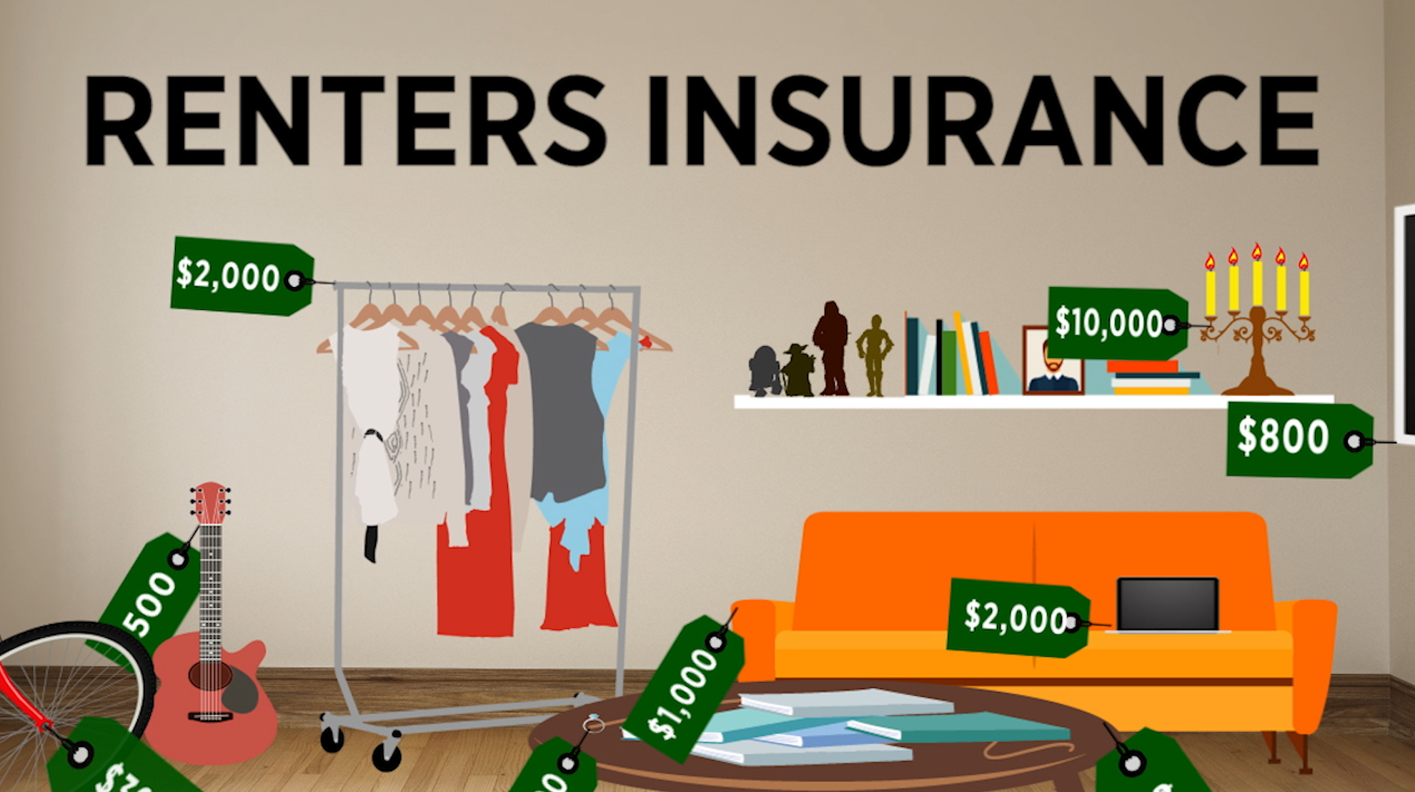 Renters insurance: What's covered and what's not [Video]