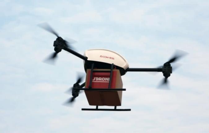JD.com will die Eine-Tonne-Drohne