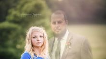 The devastating reason this mom-to-be Photoshopped her husband into maternity photos