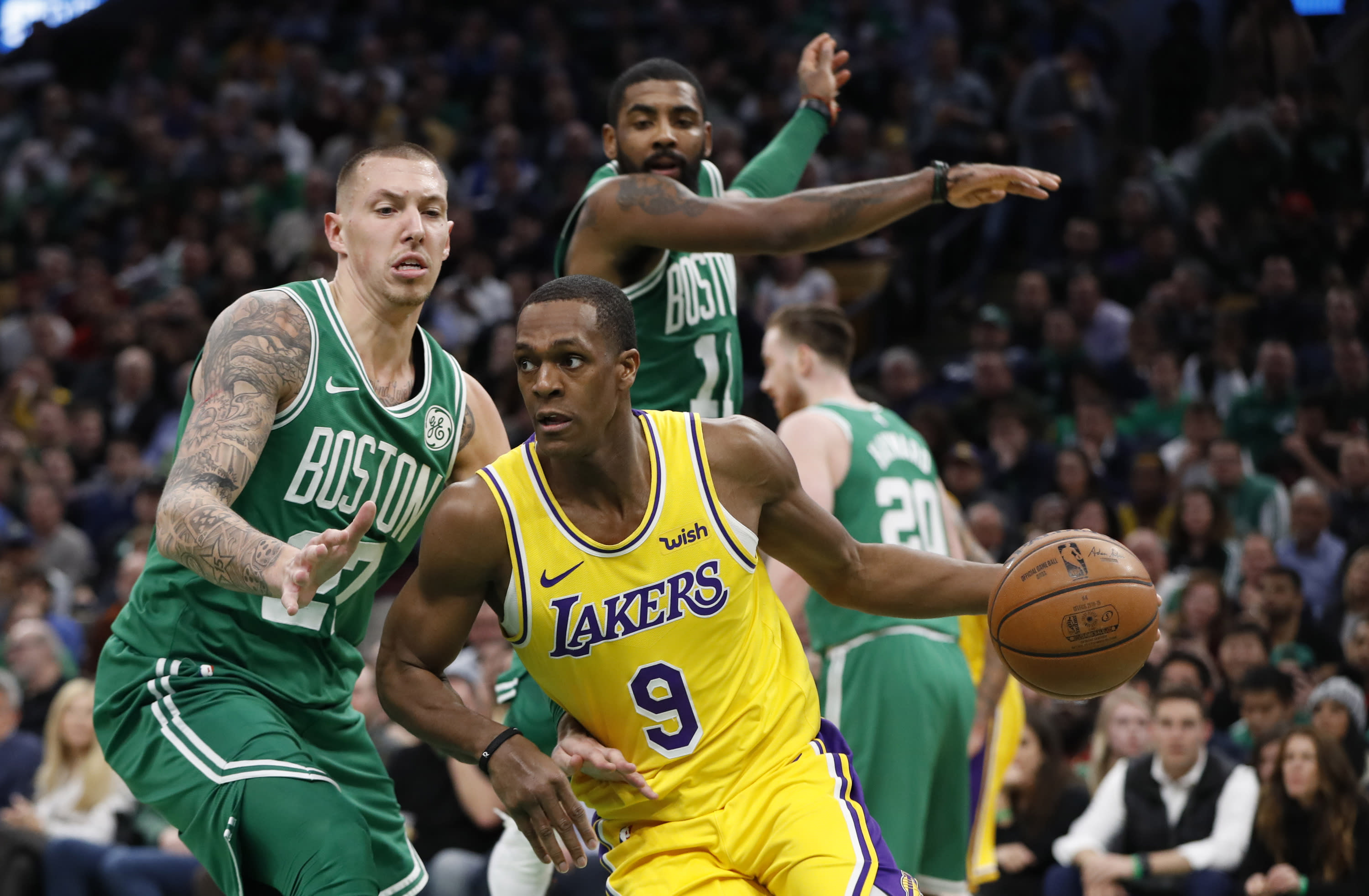 Lakers Highlights >> Highlights From Celtics 129 128 Loss To Lakers