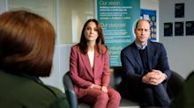 Duchess of Cambridge wears pink Marks & Spencer suit to visit NHS centre