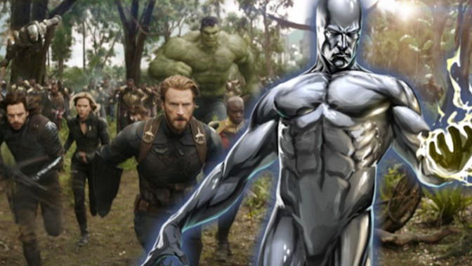 Is the Silver Surfer in the new Avengers film?