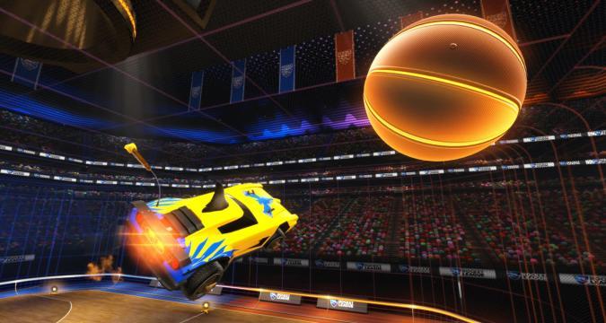'Rocket League' basketball update lands on April 26th