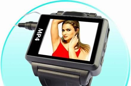 """Widescreen"" video watch touts 1.8-inch LCD"